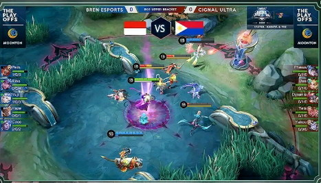 total player game mobile legends 2020